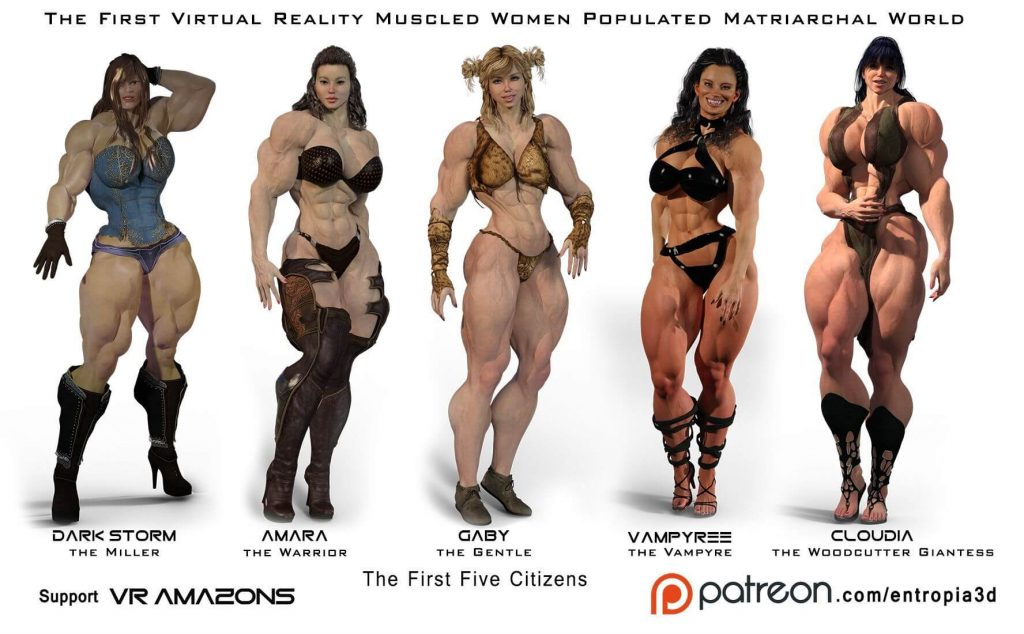 VR Amazons Adult VR Images
