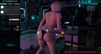 captain hardcore adult vr game